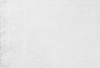 White abstract cotton towel mock up template fabric on background. Cloth Wallpaper of artistic grey wale linen canvas texture. Cloth Blanket or Curtain of pattern and copy space for text decoration.