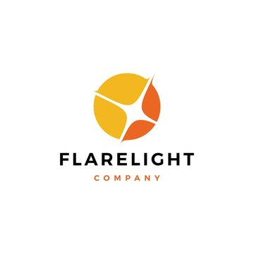 flare light logo vector icon illustration download flare light logo vector icon illustration download