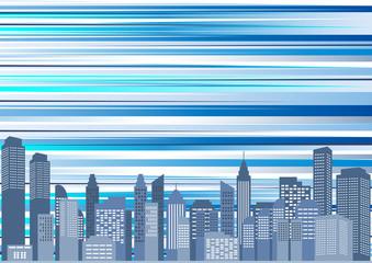 都市 風景 スピード背景