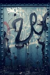 steel graffiti