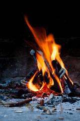 Ogień płomień palenisko