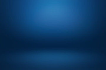 In de dag Licht, schaduw Dark gradient Blue abstract background for product montage or text backdrop design