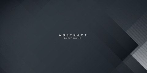 Dark black neutral abstract background for presentation design Fotobehang