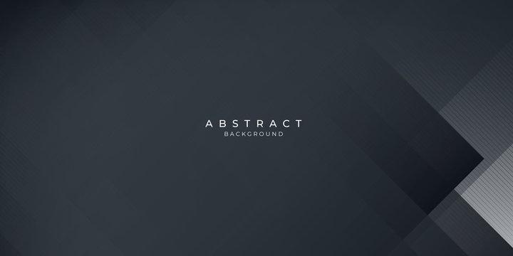 Dark black neutral abstract background for presentation design