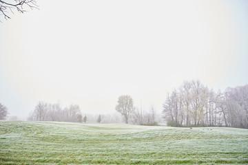 Papiers peints Blanc Golf