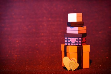 Scatole regalo per la festa di San Valentino