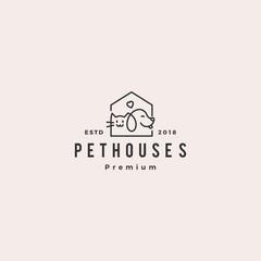 dog cat logo, cats,animal, animals, branding, cat, clean, corel, cute, design, dog, funny, great, logo, logo design, pet, sleek, vector
