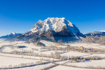 Grimming mountain in Ennstal, Steiermark, Austria