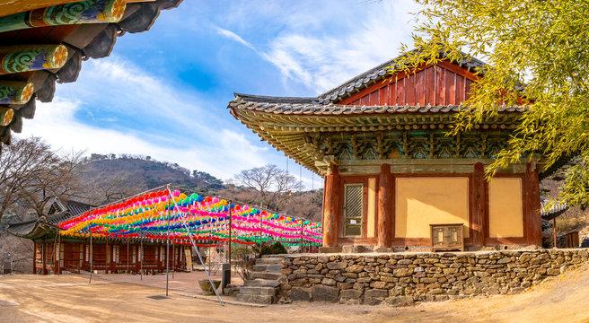 Jeondeungsa Temple of main hall