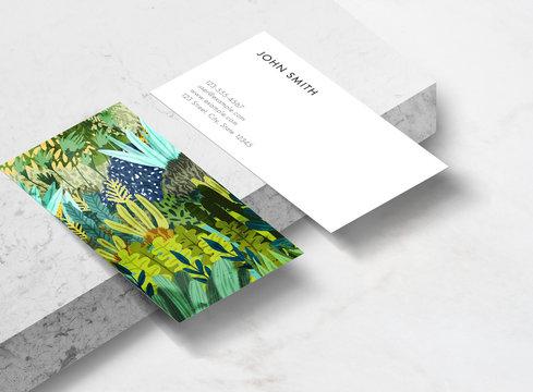 Wild Jungle II Business Card Template