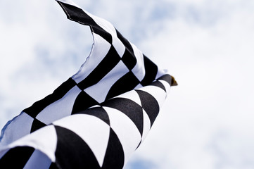 motorsports checkered flag