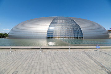 National Theatre for the Performing Arts, Beijing, China.