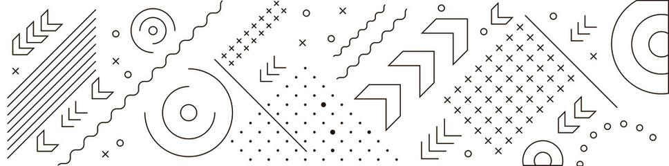 Fototapeta Geometry lines