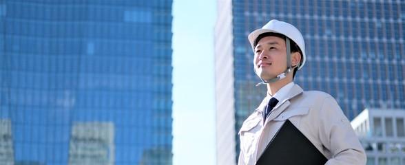 建築 ポートレート ビジネスマン