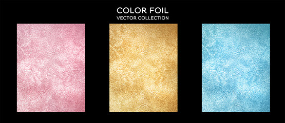 Vector gold metallic background with shine texture.