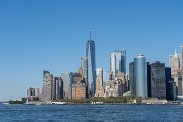 Lower Manhattan Skyline, NYC, USA