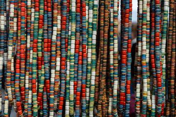 Lot of nice ukrainian traditional handcraft beads
