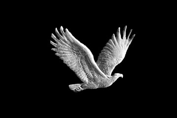 Eagle from Standing Liberty Quarter