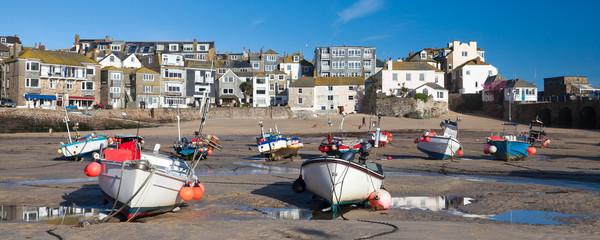 Fototapete - St Ives Harbour Cornwall England UK