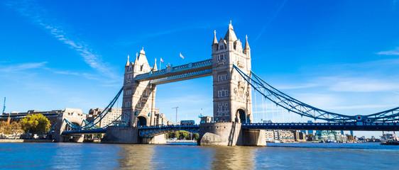 Garden Poster London ロンドン タワー・ブリッジ ワイド