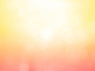 golden and yellow circle background.Blured orange bokeh texture.
