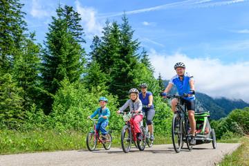 Radtour im Rohrmoos im bayrischen Allgäu