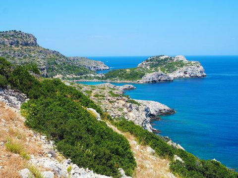 Rhodos - Wanderweg zwischen Ladiko und Traganou Beach