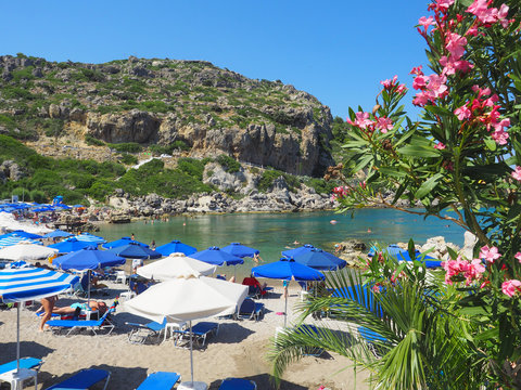Rhodos - Traumbucht Ladiko Bay