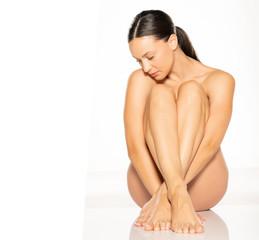 young seductive naked woman