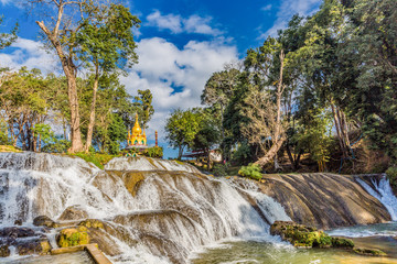 Photo sur Plexiglas Nature Pwe Gauk Waterfall Pyin Oo Lwin Mandalay state Myanmar (Burma)