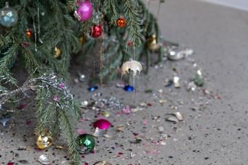 Weihnachten vorbei Cristmas out