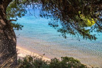 Traumhaft schöne Bucht in Griechenland