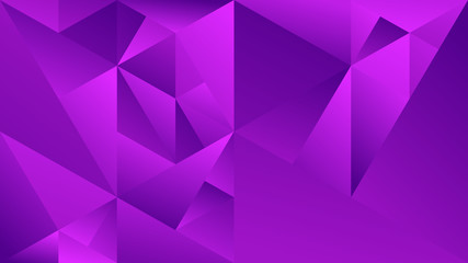 Minimal dynamic gradient triangle webpage background - abstract violet minimalistic vector design