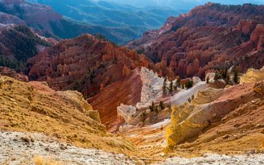 Aluminium Prints Arizona Colorful Canyon in Cedar Breaks