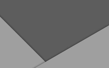 Fondo gris con formas geométricas.
