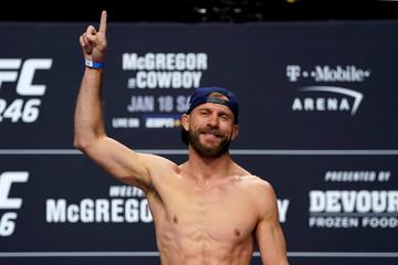 UFC 246 - Conor McGregor v Donald Cerrone Weigh-In