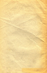 Old paper texture. Rough faded surface. Blank retro page. Empty place for text. Perfect for...