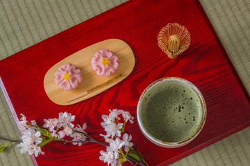 日本茶 抹茶 Image of Japanese traditional matcha