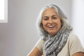 Portrait of a grandmother. (Senior)