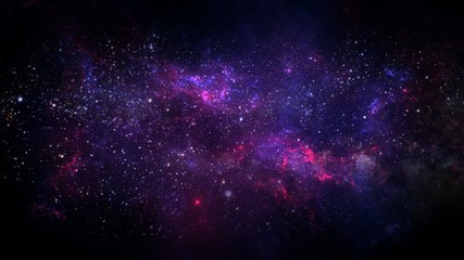 Foto op Canvas Heelal Planets and galaxy, science fiction wallpaper. Beauty of deep space.