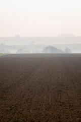 Papiers peints Blanc France. Picardie. Somme. Terres agricoles cultivées. Cultivated agricultural land