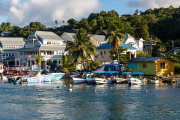 Saint Lucia, West Indies - Marigot bay
