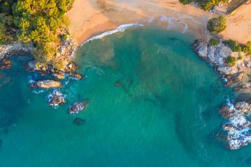 Fototapete - Sea dron view