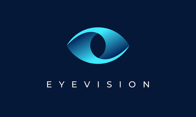 Eye Vision Logo Design Icon Symbol
