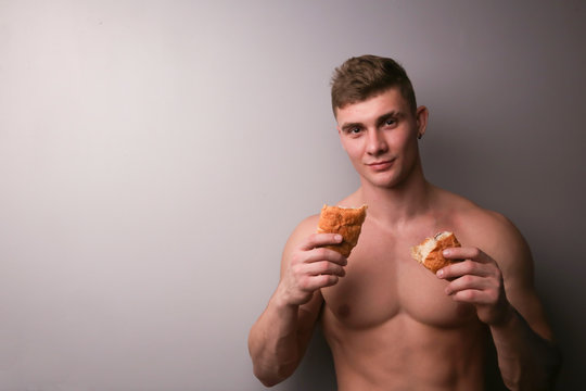 Croisant, bakery, abs, bakery, bread, cake, cooh, food, chest, cooking, macho, sweet, man, pie, sexy, tasty , torso