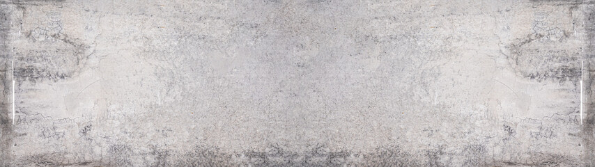 Foto auf Leinwand Steine Grey stone concrete texture background anthracite panorama banner long