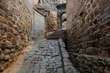 Papiers peints Ruelle etroite Narrow stone alley