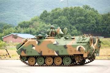heavy military vehicles