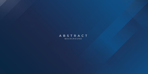 Abstract background dark blue with modern corporate concept. Fotomurales