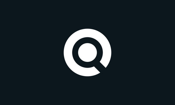 Minimalist abstract Letter O search logo. This logo icon incorporate with letter O and search icon in the creative way.